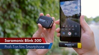 Saramonic Blink 500 | Kabelloses Profi-Mikrofon für Smartphones via USB-C & Lightning im Test