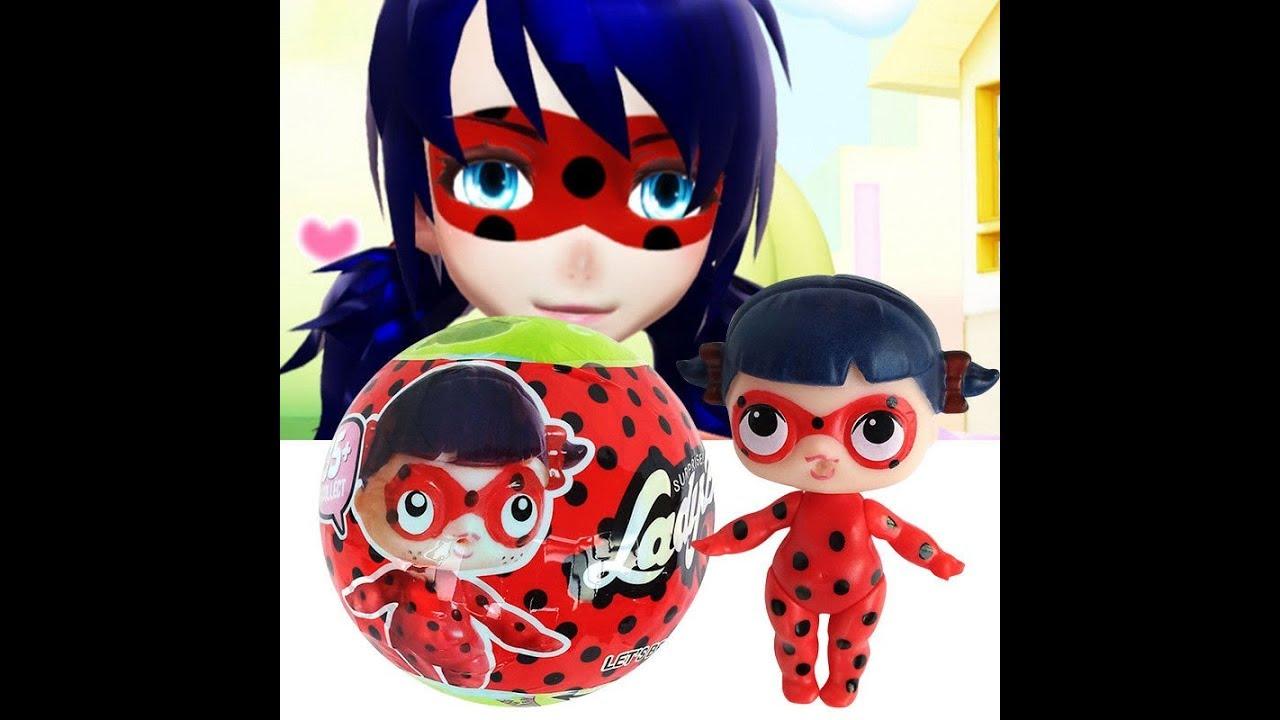 ЛОЛ СЮРПРИЗ. Кукла в Шаре ЛОЛ ЛЕДИБАГ. Miraculous Ladybug ...