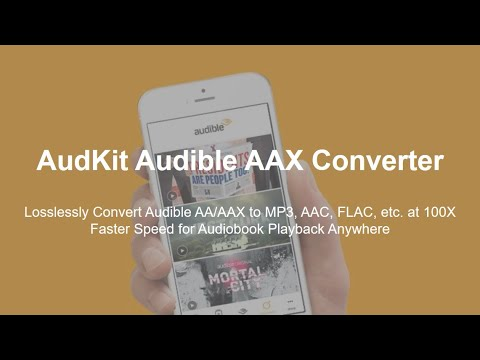 Best AAX Converter to Convert Audible AA/AAX to MP3 Losslessly
