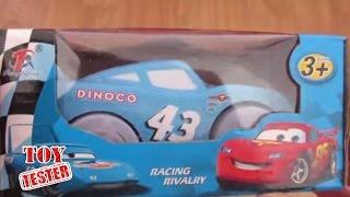 """Juguetes Cars """"El Rey"""" y Rayo McQueen coche con luz Disney Pixar / Juguetes para niños Rayo Macuin"""