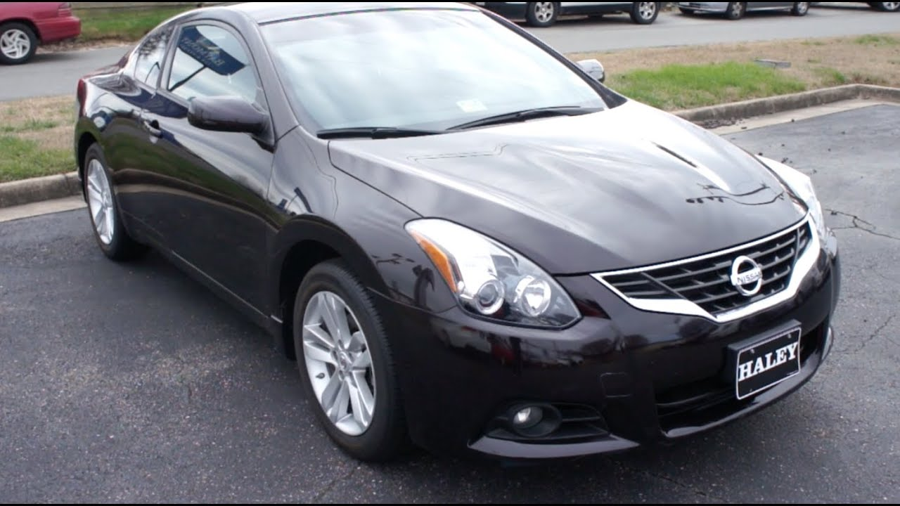 2013 Nissan Altima 2 5s Coupe Walkaround Start Up Tour