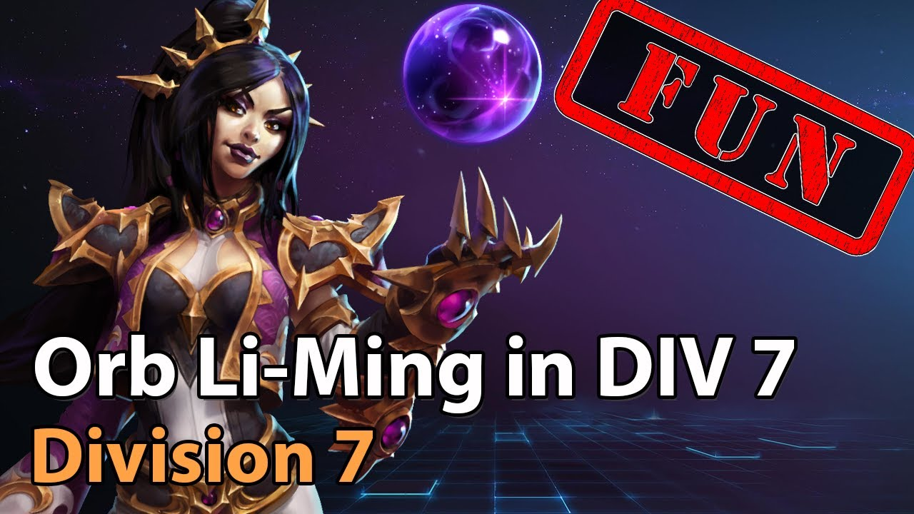 ► Li Ming: To Orb or not to Orb? - Division 7 - Heroes of the Storm Amateur Play