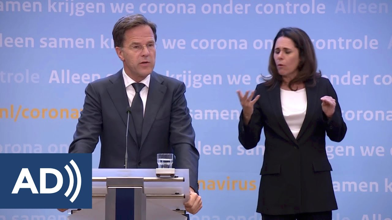 3 Juni 2020: Persconferentie Van Premier Rutte En Minister