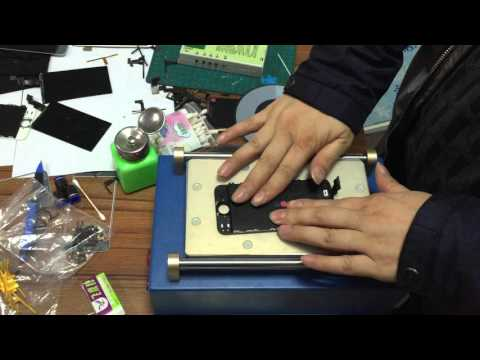 how to chang  touch flex for iphone 5 ,  Liquid crystal display vertical lines problem  4(1)