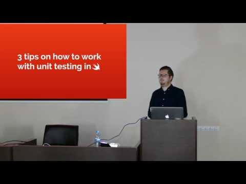 John Sundell - Writing Swift code with great testability. 04/03/2017 @ CocoHeads Kyiv #11