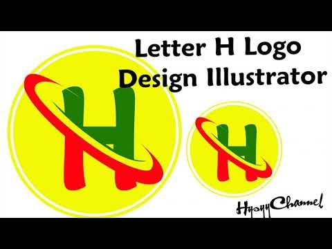 Hường dẫn tạo Logo chữ H – Letter H Logo Design Illustrator