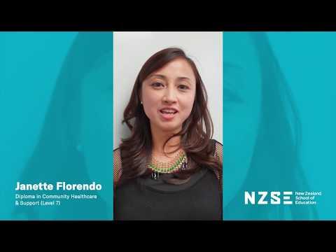 NZSE Student Testimonial - Janette Florendo