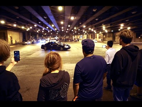 Road rituals on Lower Wacker Drive