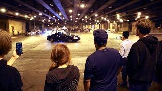 Road rituals on Lower Wacker Drive