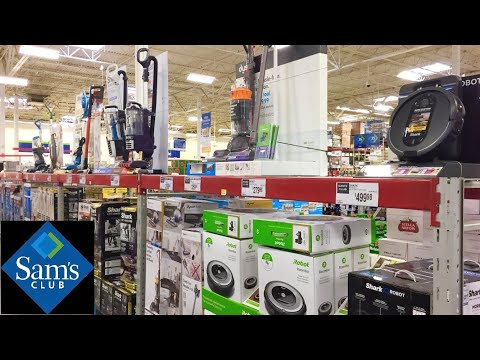 SAM'S CLUB VACUUM CLEANERS ROBOT VACUUMS DUSTBUSTERS SHOP WITH ME SHOPPING STORE WALK THROUGH 4K from YouTube · Duration:  4 minutes 37 seconds