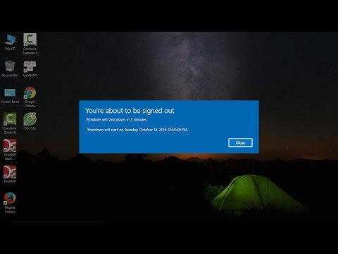 Hướng Dẫn Cài Đặt Hẹn Giờ Tắt Máy Tính Windows
