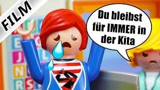 Playmobil Film Deutsch SCHULTEST NICHT BESTANDEN! LEHRER WOLLEN JULIAN NICHT IN SCHULE Familie Vogel