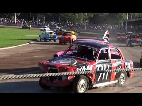 Classic Carnage and Historic Stock Cars Arlington 12/08/2017