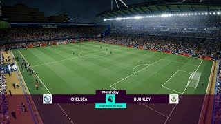Chelsea vs Burnley - Premier League 22 April 2019 Gameplay