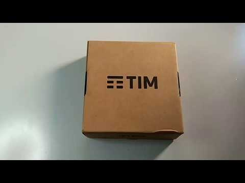 Unboxing Tim Box Android TV (Decoder TimVision 2017)