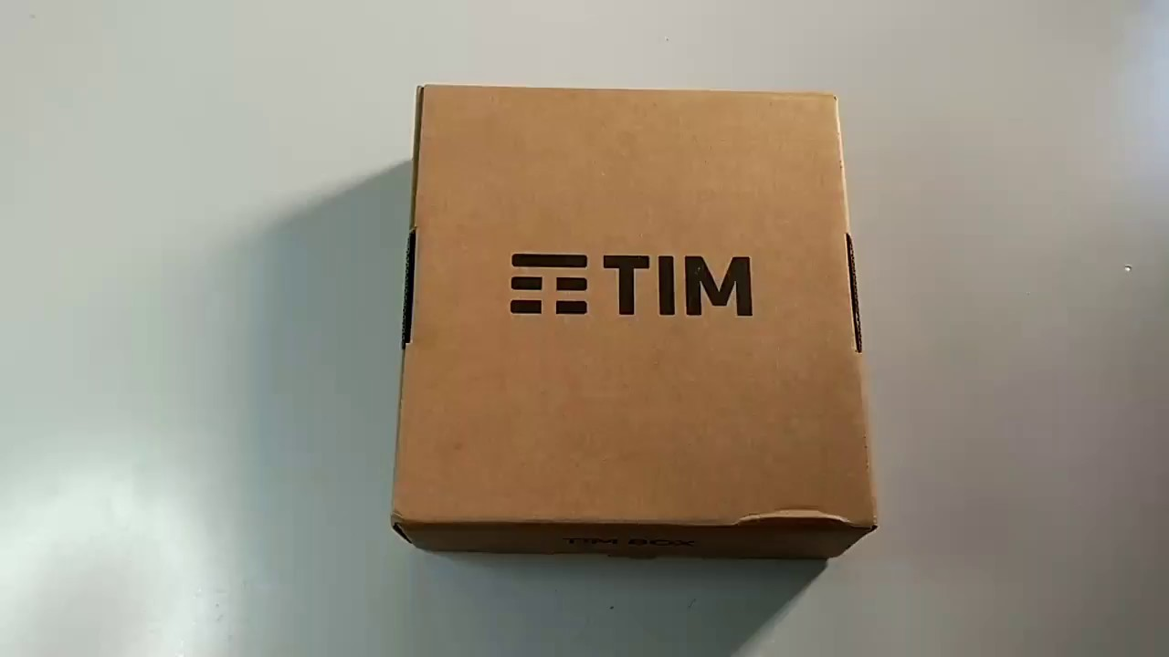 Unboxing Tim Box Android Tv  Decoder Timvision 2017