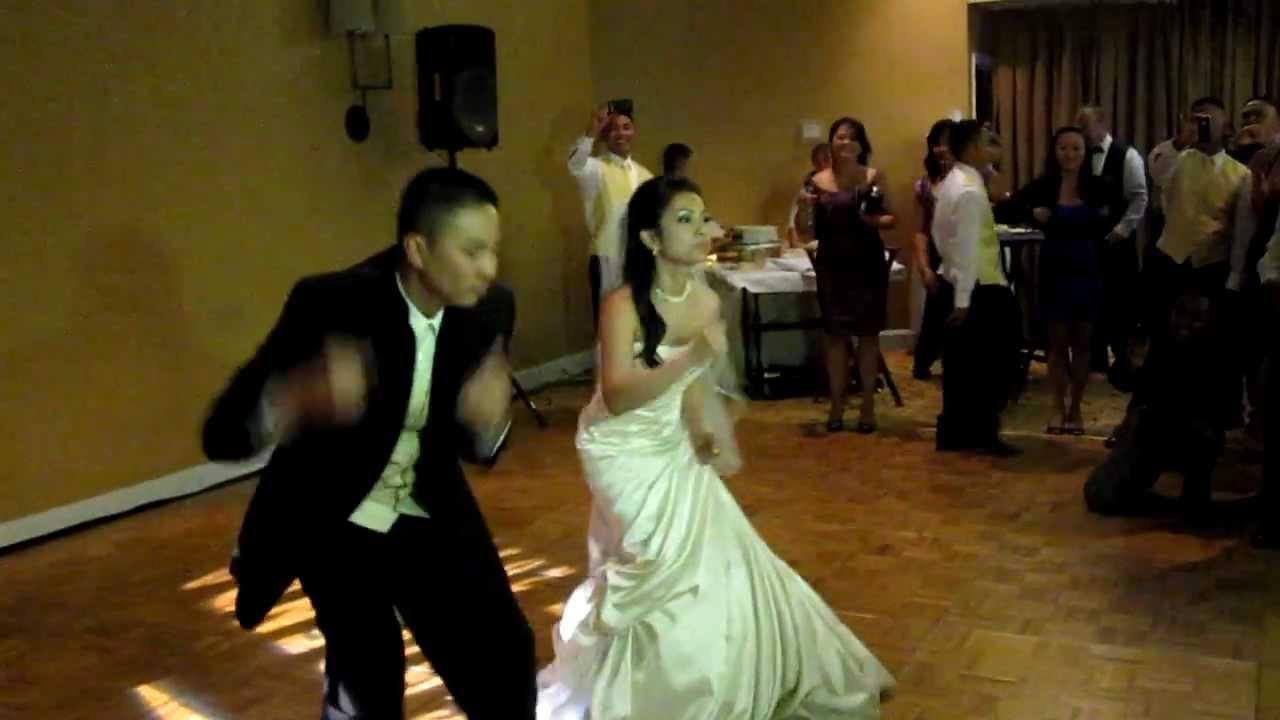 Best Surprise Wedding Dance  J Lo  Tom Cruise MTV Awards