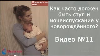 Как часто должен быть стул и мочеиспускание у новорождённого?(Сайт Школы мам: http://www.shkolamamipap.ru Посетите Школу мам в социальных сетях: В контакте: http://vk.com/shkolamamipap В facebook:..., 2013-10-14T19:54:12.000Z)