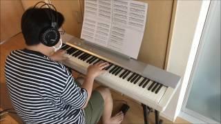 【ピアノカバー】yuri On Ice/梅林太郎を弾いてみた