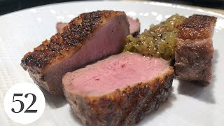 Seared Duck Breast With Chef Douglass Williams At Home With Us