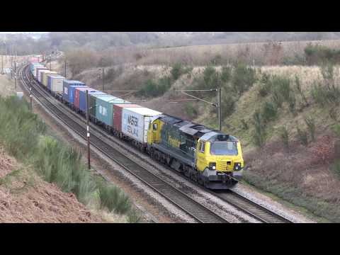 Trains along the Great Eastern Mainline: 13/02/18