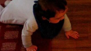 crawlin baby!