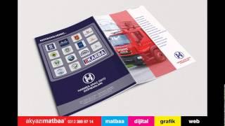 Katalog Baskı - Matbaa Ostim Ankara - Akyazı Matbaa