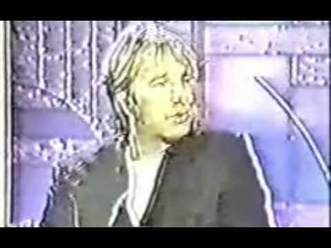 Alan Rickman on The Arsenio Hall Show