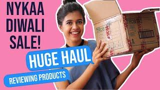 HUGE HAUL: Nykaa Diwali Sale| Sejal Kumar