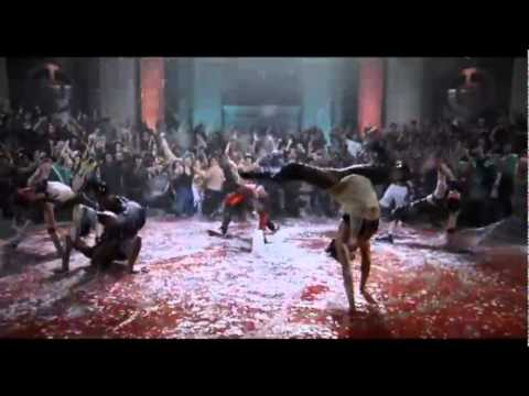 baile step up 3d water dance