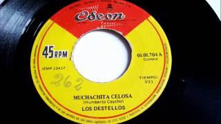 Los Destellos - Muchachita Celosa - Ojos Azules