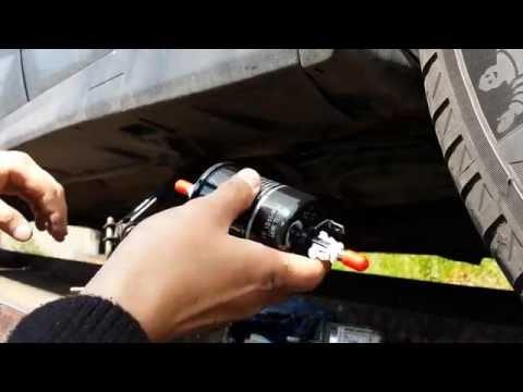 Jak Wymienić Filtr Paliwa - Opel  Astra G Poradnik PL