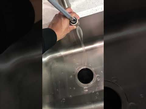 Hydrophobic Stainless Steel Sink