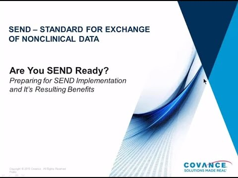 Covance Webinar: SEND  - What to Expect