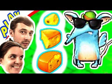 БолтушкА и ПРоХоДиМеЦ ищут маленький СЫР! #351 Игра для Детей - Крысы для андроид