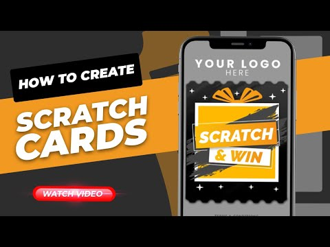 How to create digital Scratch & Win Coupons