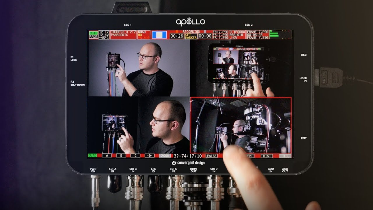 record multiple cameras simultaneously