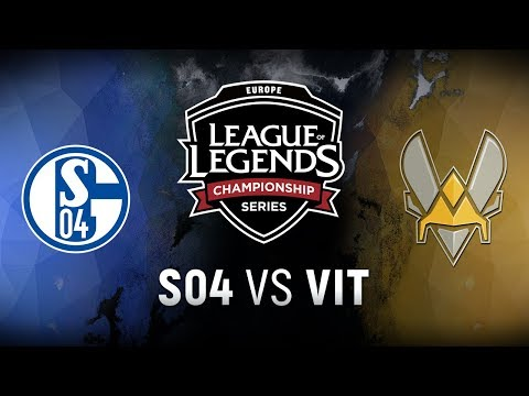 S04 vs. VIT - Playoff Tiebreaker | EU LCS Summer Split | FC Schalke 04 vs. Team Vitality (2018)