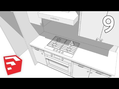 STOVE TOP & WALL OVEN - Dramatic Contemporary House Pt. 9