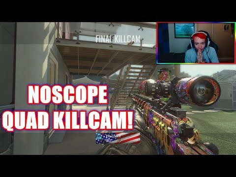 ANOTHER NO SCOPE QUAD KILLCAM! (MY SECOND BEST CLIP IN RED!)