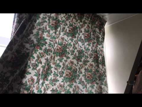 Pre spray professional curtain cleaning in London -