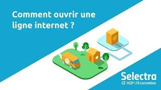 Comment ouvrir une ligne téléphonique et internet ?