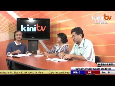 KiniTV's Live Election Report - 5pm