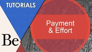 Payment and Effort