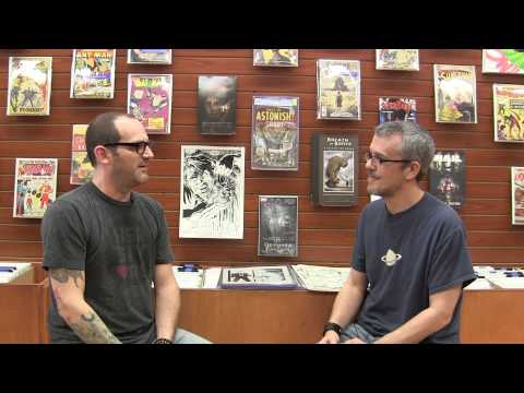 The Blastoff Video Interview - The Steve Niles Collection, Part 1