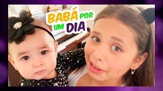 VIREI BABÁ POR UM DIA   NANNY FOR A DAY - Luiza Vinco