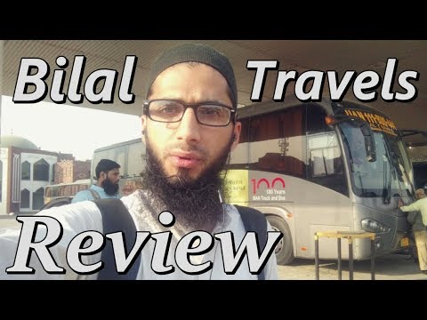 Travel Log 2: Review of Bilal Travels Bus Service Pakistan