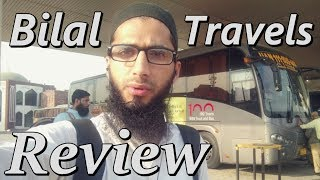 Travel Log : Review of Bilal Travels Bus Service Pakistan