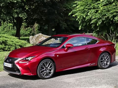 Essai Lexus RC 300h Sport Executive 2017