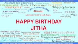 Jitha   Languages Idiomas - Happy Birthday